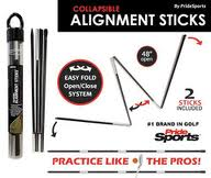 Pride Sports Alignment Sticks - Yellow